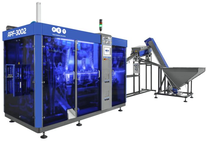APF-3002 blow molding machine